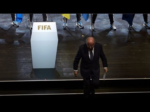 Fifa: Sepp Blatter to quit as president amid corruption scandal