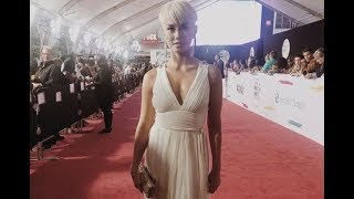 full agnez mo at american music awards 2017   interview red carpet main show amas
