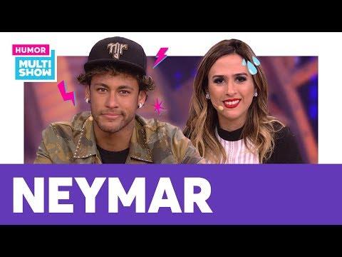 Neymar E Tatá Werneck Falam De FAKE NEWS E Mais! | AQUECIMENTO Lady Night | Humor Multishow