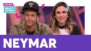 Neymar e Tatá Werneck falam de FAKE NEWS e mais!   AQUECIMENTO Lady Night   Humor Multishow