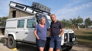 Defender als Auszeit-Reisemobil - Die Roomtour
