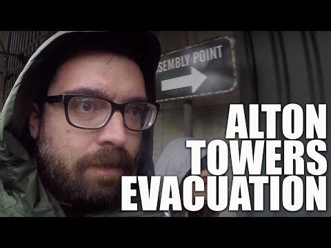 EVACUATED FROM ALTON TOWERS ROLLERCOASTER | Family Vlog