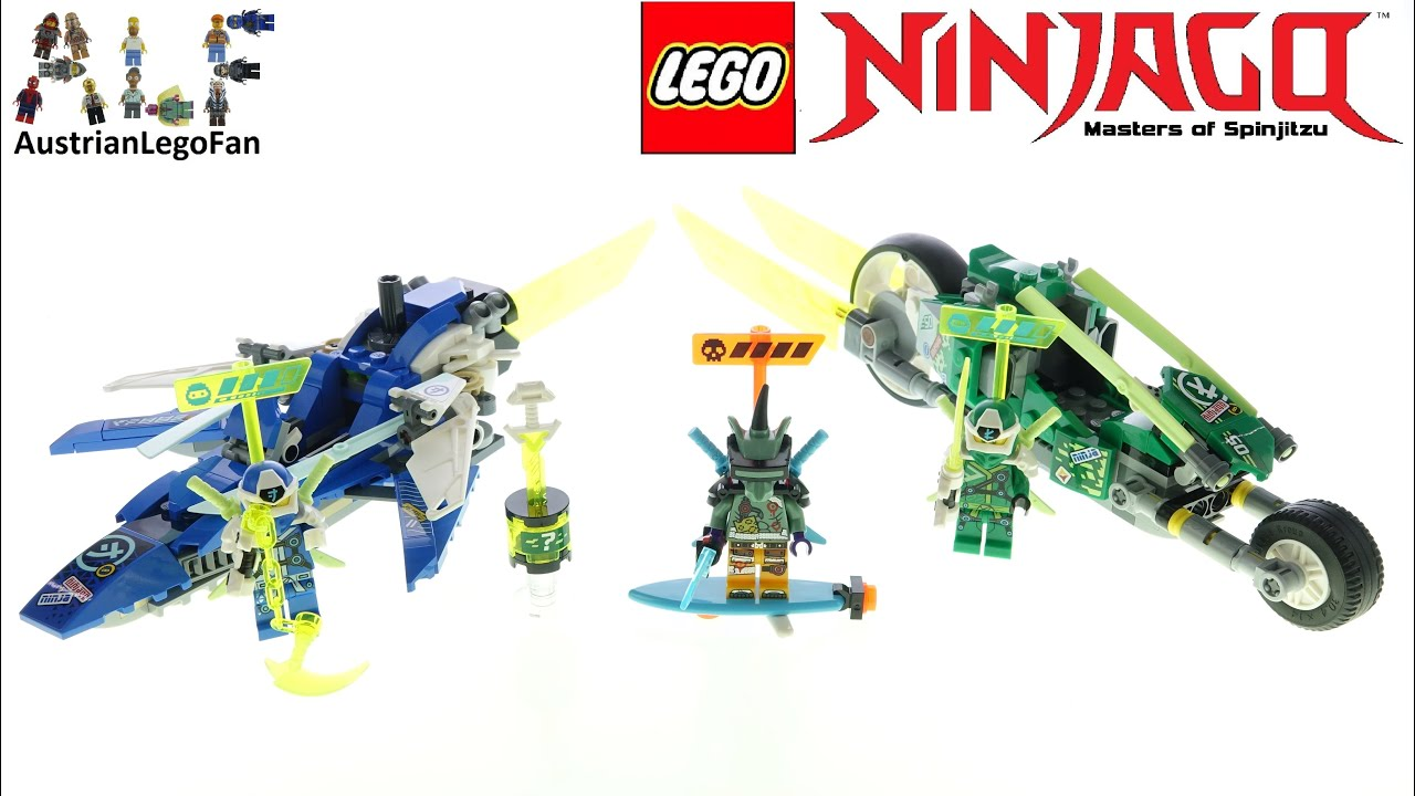 Download LEGO Ninjago 71709 Jay and Lloyd's Velocity Racers - Lego Speed Build Review