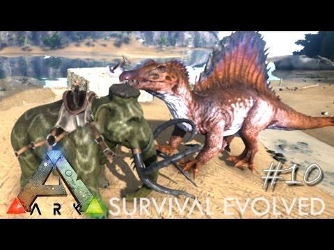 ARK: Survival Evolved - CRAZY POWERFUL - MAMMOTH TAMING !!! - [Ep 10] (Server Gameplay)