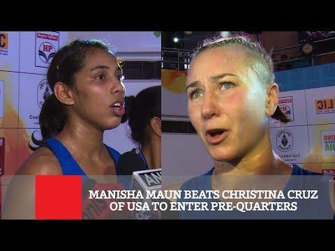 Manisha Maun Beats Christina Cruz Of Usa To Enter Pre-Quarters