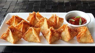 Crab Rangoon - Crispy Crab & Cream Cheese Wonton Recipe