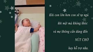 Bài học quan trọng: Trình tự đi ngủ bé sơ sinh