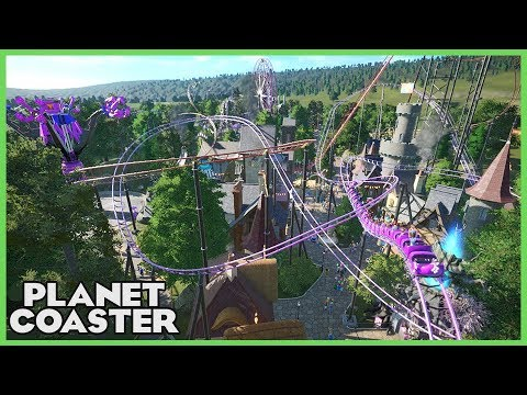 THE LAND OF THE PURPLE DRAGONS! Park Spotlight 79 #PlanetCoaster