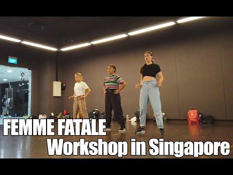 Femme Fatale Dance Workshop in Singapore 2019