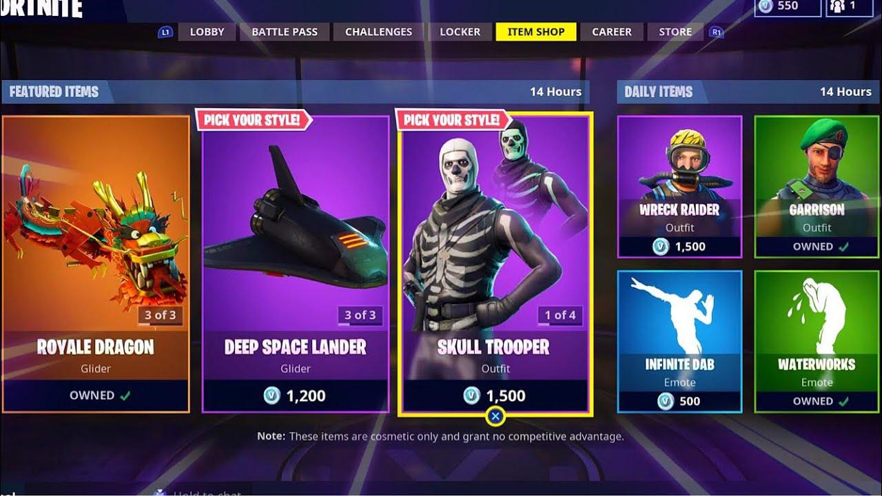 Fortnite Purple Skull Trooper Account Og And Season 2