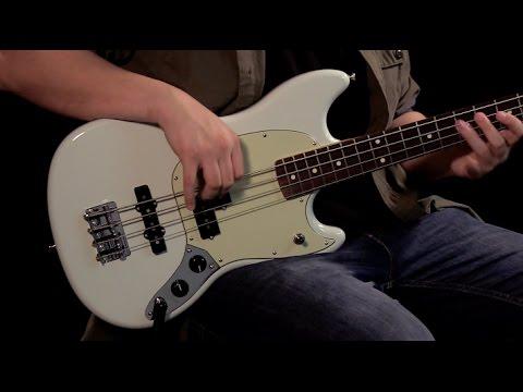 Fender Mustang Bass Demo - YouTube  Fender Mustang ...