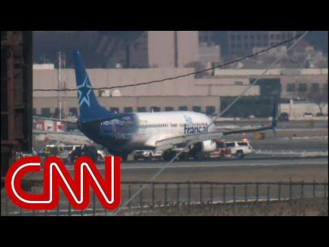 Newark Airport reopens after emergency landing
