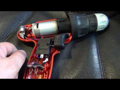 Black & Decker Drill - Bad Solder
