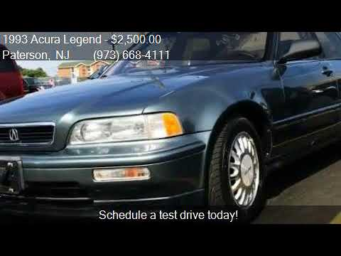 Acura Legend L Dr Sedan For Sale In Paterson NJ YouTube - 1993 acura legend for sale