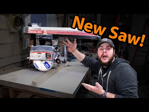 The New Radical Radial Arm Saw