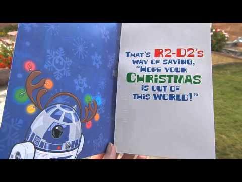 R2D2 Singing Christmas Card