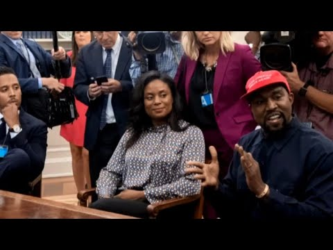 Kanye West visits White House, discusses prison reform with Trump
