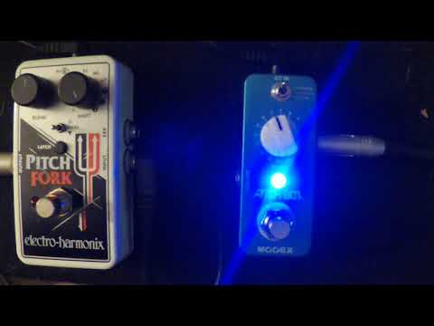 Electro Harmonix Pitch Fork VS Mooer Pitch Box  Pitch Shift/Harmony pedal shootout