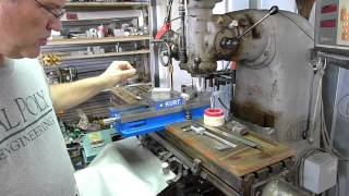Milling Machine -- Wood Table Covers & Tool Holder