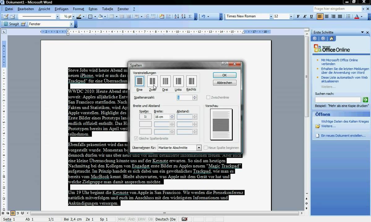 Erfreut Einen Lebenslauf Auf Microsoft Word Schreiben Ideen ...