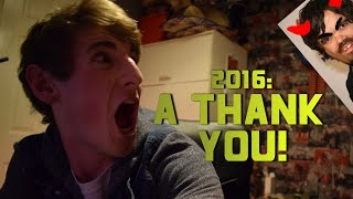 2016: A THANK YOU! (Christmas Apology Vlog)
