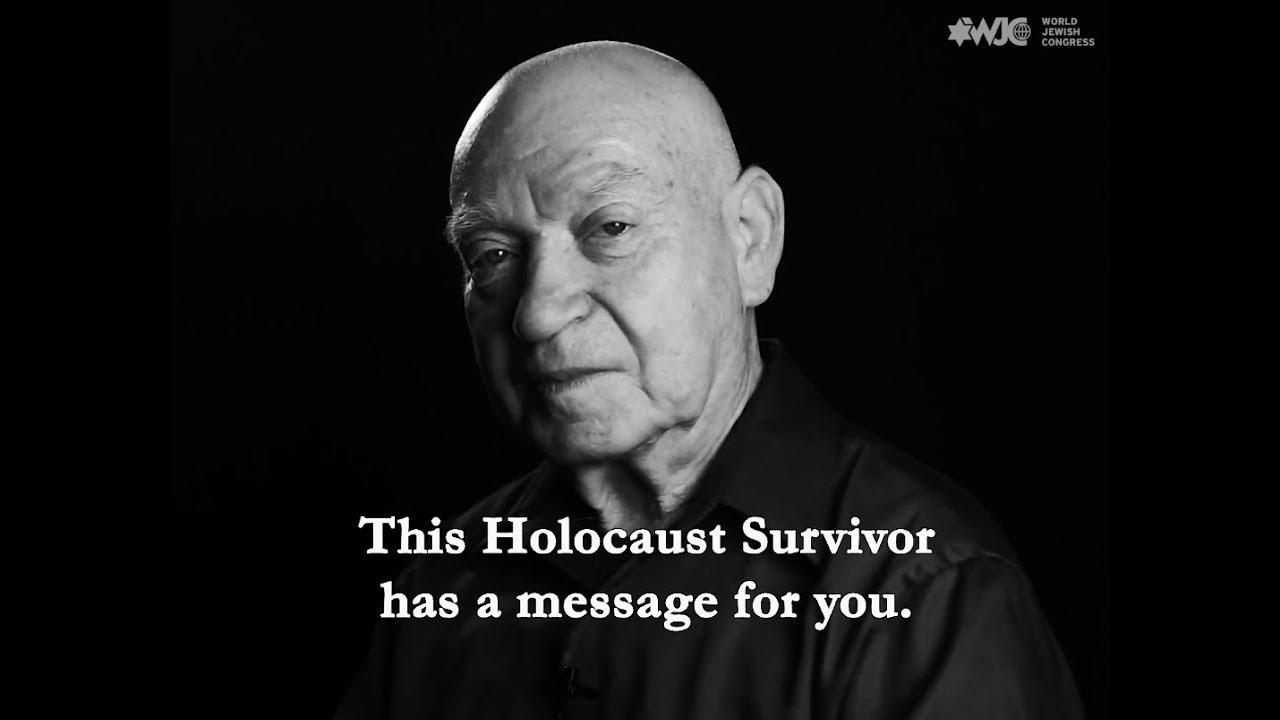 Meet Sami Steigmann - Holocaust survivor