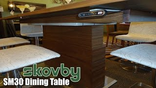 Skovby Sm30 - Electronic Dining Table