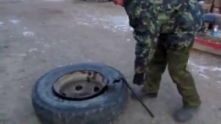 Монтировки для бескамерных колес и инструмент своими руками от Дяди Вани.