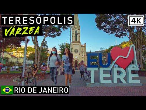 Walking in Teresópolis [Varzea] 🇧🇷 | Rio de Janeiro, Brazil |【4K】2021