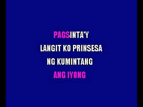 Francisco Buencamino   Prinsesa Ng Kumintang Filipino Karaoke