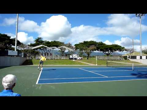 Ryan Sweeting vs Ryan Harrison  Quarterfinal Honolulu Challenger 2011 HD Part 2