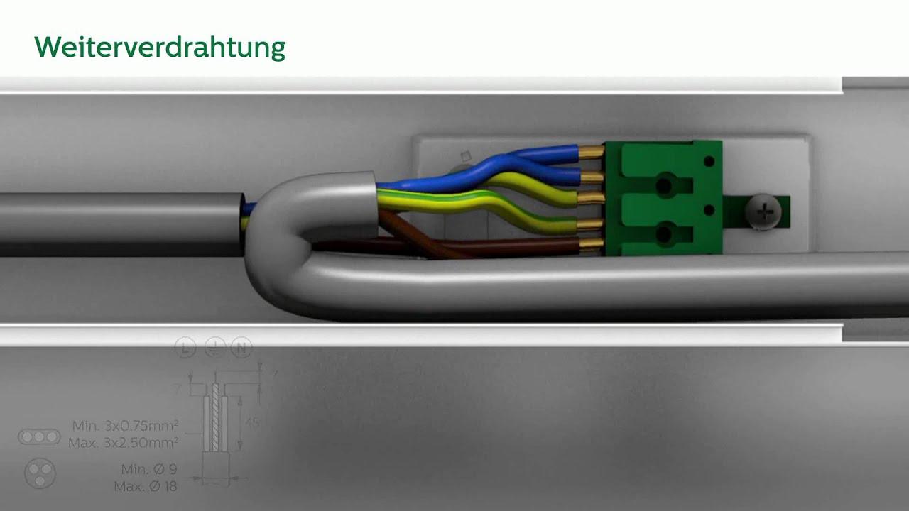 CoreLine LED-Lichtleiste Installation | Austria - YouTube