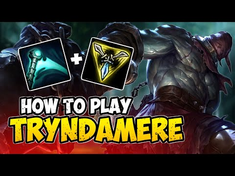 How To Play TRYNDAMERE TOP For Beginners | TRYNDAMERE Guide Season 10 | League Of Legends