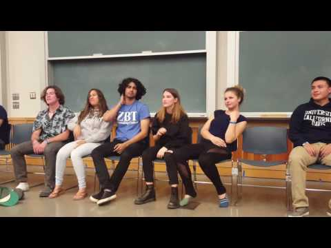 UC Davis students under hypnosis