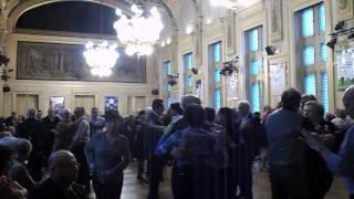 Bal des seniors à la mairie du 13e à Paris