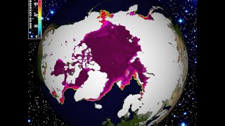 2/28/2015 -- North Pole frozen solid -- South Pole re-freezing -- East Coast frozen waves?!