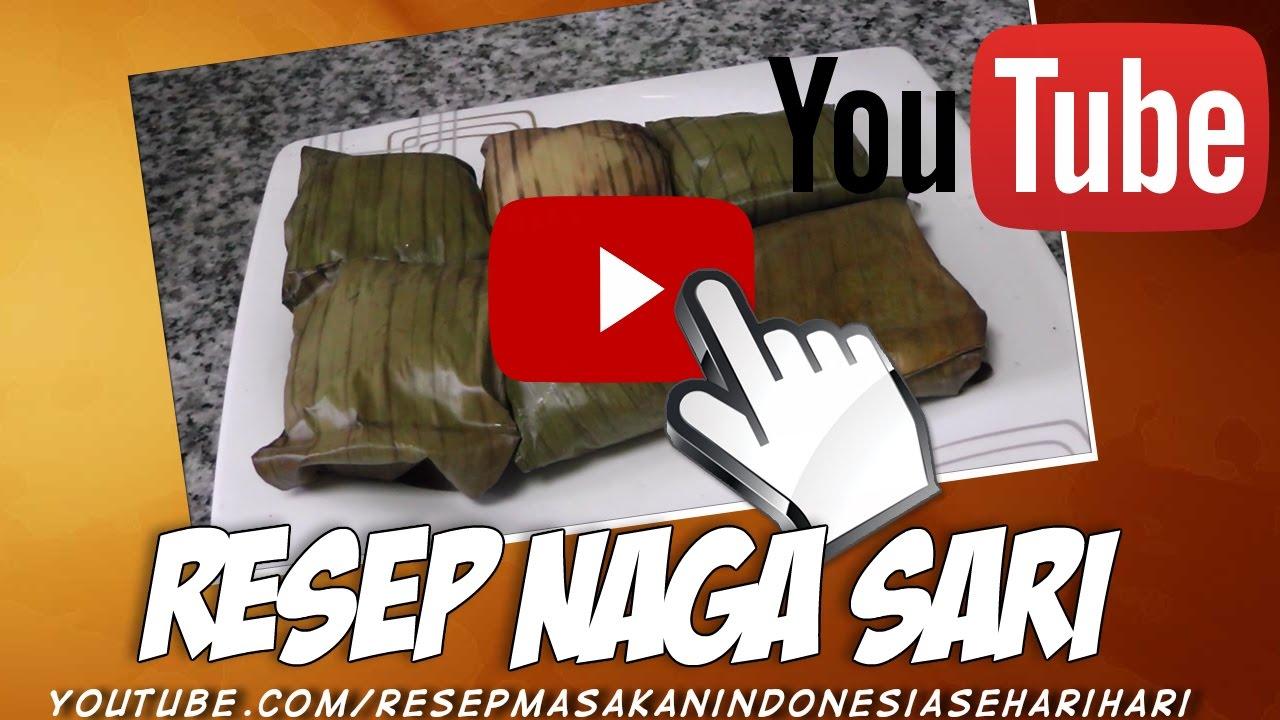 Resep Cara Membuat Kue Nagasari Enak Dan Lembut Youtube