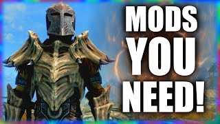 5 Essential Mods to make Skyrim more of an RPG