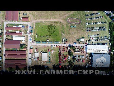 Farmer Expo Madártávlatból