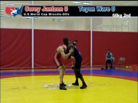 World Cup Wrestle Off: 66kg: Corey Jantzen vs. Teyon Ware