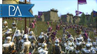 FORTRESS UNDER SIEGE - Medieval 2 Total War Gameplay