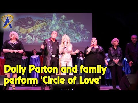 Dolly Parton and family sing 'Circle of Love' at Dollywood