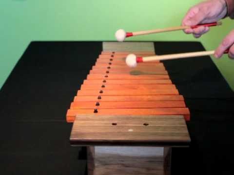 how to make a wooden xylophone