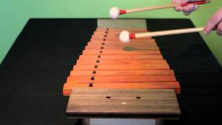 13 Note Wooden Xylophone