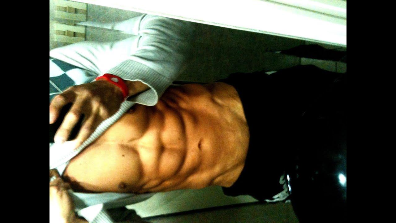 como hacer crecer los musculos del abdomen