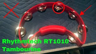 ✅  How To Use Rhythmtech RT1010 Tambourine Review