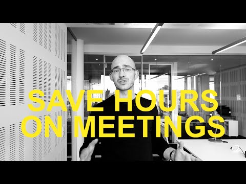 How do you spend your time? I hope not in bad meetings! | Work Tools #7