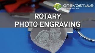 Logiciel Gravostyle™ - Gravure de photo sur pendentif avec une M20