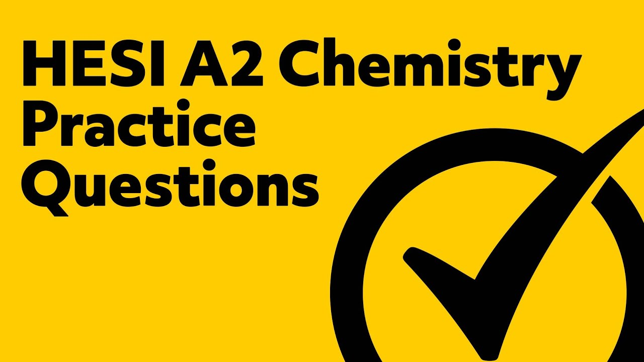 HESI A2 Chemistry Practice Questions - YouTube