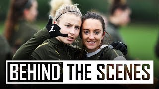 Behind the scenes at Arsenal Women training
